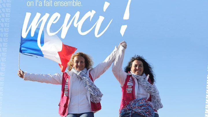 Hélène Grand'Eury et Charlotte Zucconi, équipage 238, vainqueurs du rallye Aïcha des Gazelles du Maroc 2018
